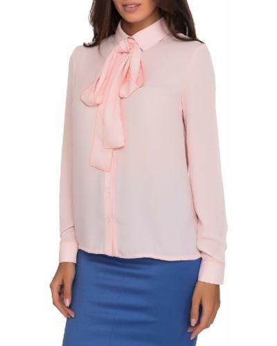 Блузка из вискозы - розовая Gloss