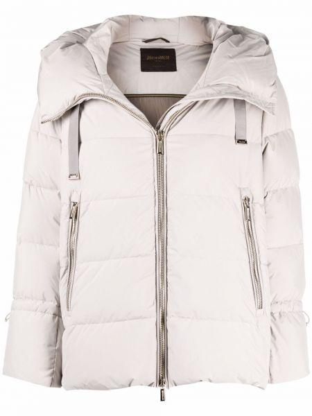 Куртка оверсайз - белая Moorer