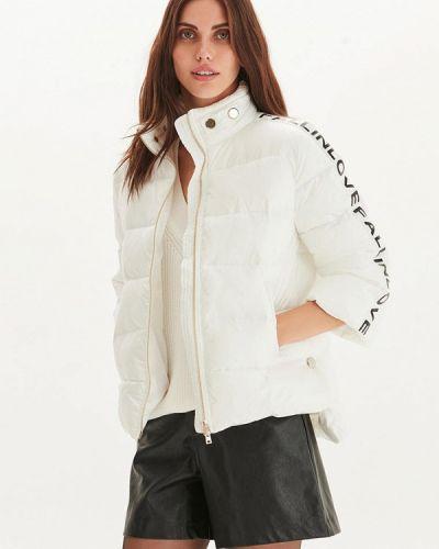 Утепленная куртка - белая Love Republic