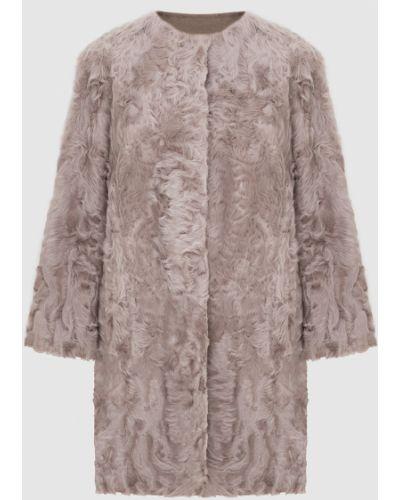Светло-розовое пальто двустороннее Simonetta Ravizza