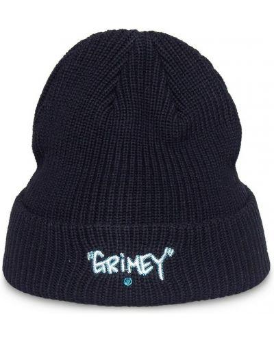 Czarna czapka beanie Grimey