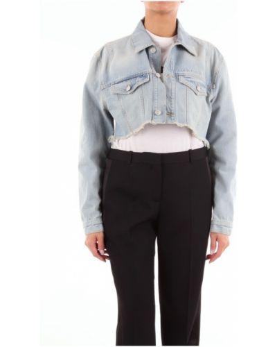 Niebieska kurtka jeansowa Givenchy
