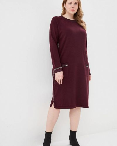 Платье весеннее красный Milanika
