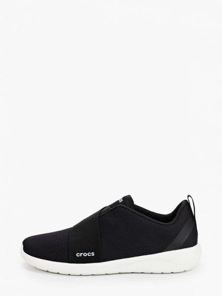 Кроссовки черные Crocs