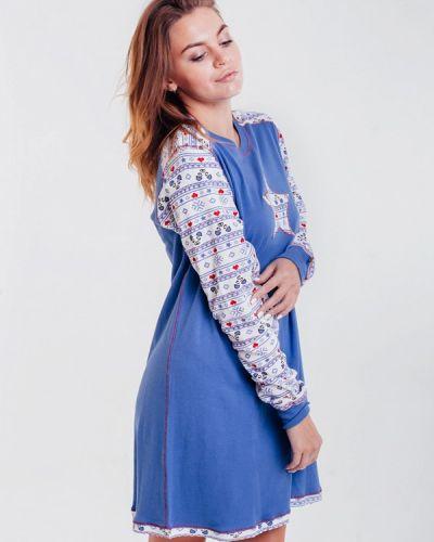 Платье - синее Rebelle