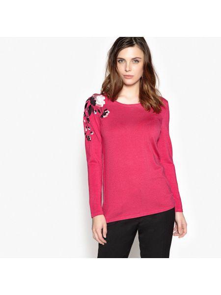 Пуловер с вышивкой длинный Anne Weyburn