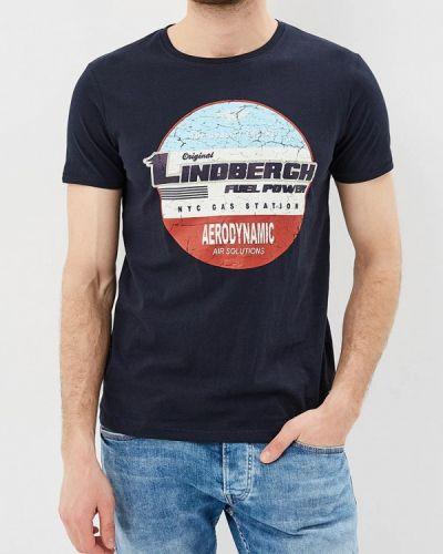 Синяя футболка Lindbergh