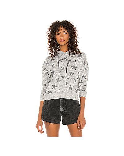 Шелковый серый свитер Rails