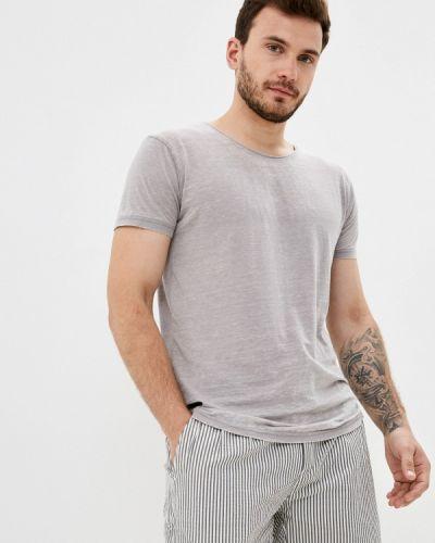 Серая футболка с короткими рукавами Hopenlife