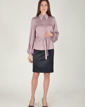 Блузка на резинке с баской Viserdi