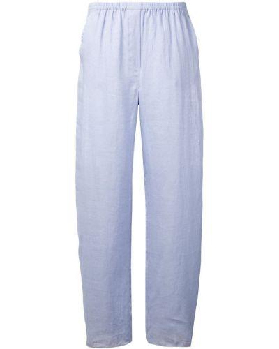 Свободные брюки с карманами с поясом Emporio Armani