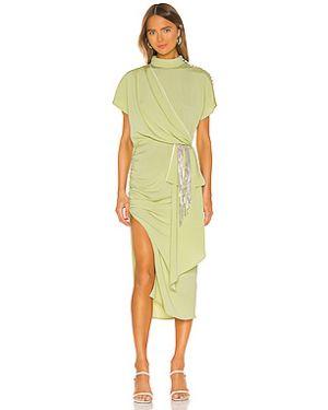 Платье миди с бахромой на пуговицах Marianna Senchina