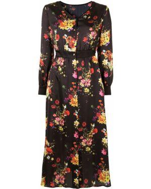 Платье миди на пуговицах с цветочным принтом Loveless