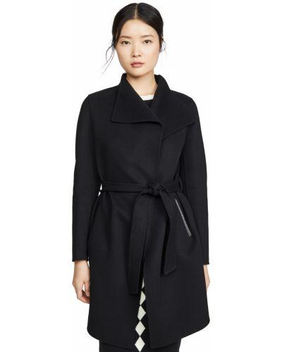 Черная кожаная куртка с подкладкой Mackage