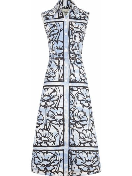 Sukienka z kieszeniami Fendi