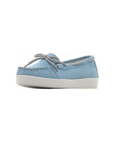 Мокасины - голубые Zenden Comfort