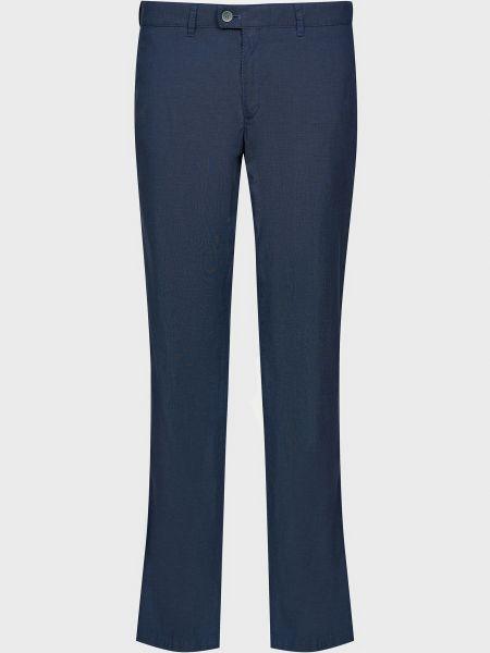 Хлопковые брюки - синие Brax