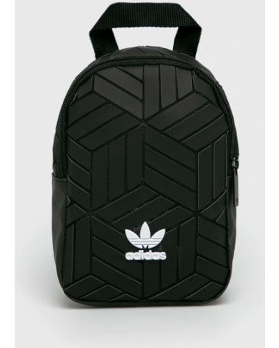 Кожаный рюкзак с подкладкой черный Adidas Originals