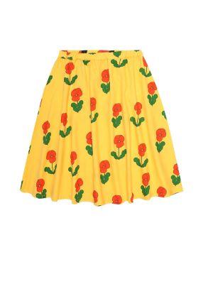 Bawełna bawełna żółty spódnica Mini Rodini