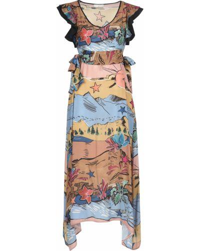 Платье шелковое весеннее Beatrice.b
