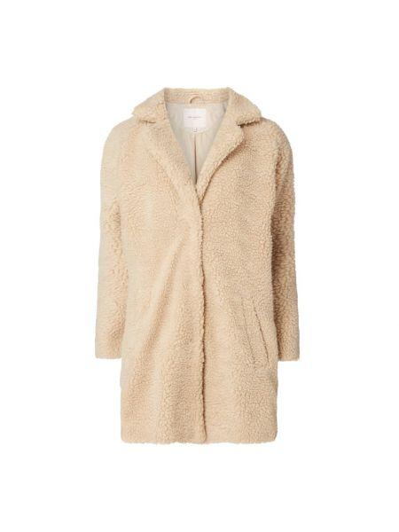 Beżowy płaszcz z długimi rękawami Only Carmakoma