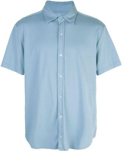 Классическая рубашка с короткими рукавами хаки на пуговицах Save Khaki United