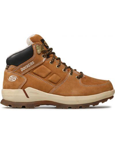 Ботинки - коричневые Dockers By Gerli