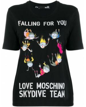Топ футбольный Love Moschino