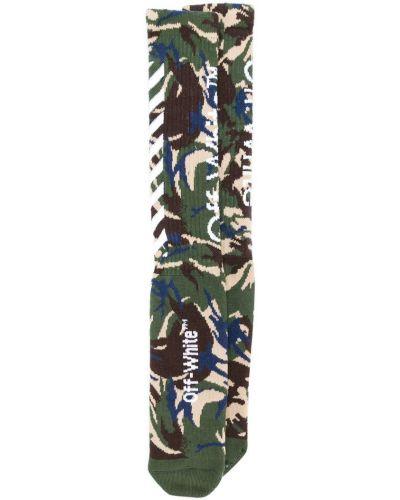 Носки с принтом с логотипом Off-white