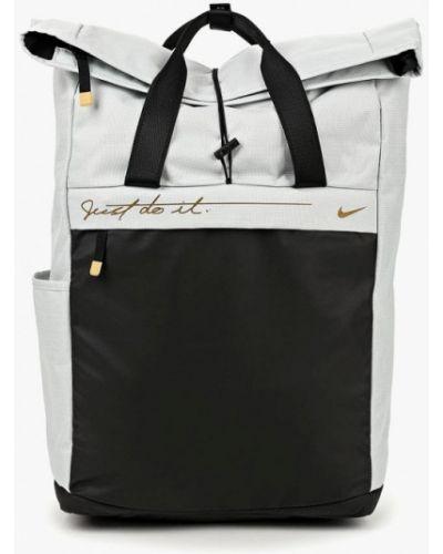 Серый рюкзак городской Nike