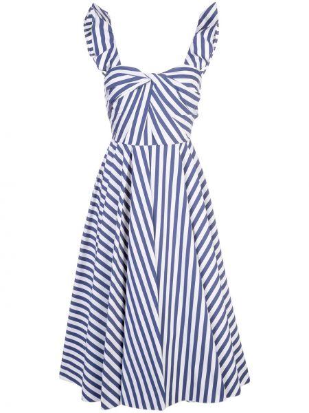 Расклешенное платье миди без рукавов с вырезом на молнии Jason Wu Collection