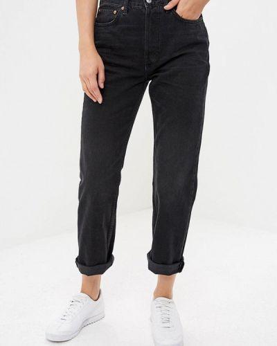 Черные джинсы бойфренды Topshop