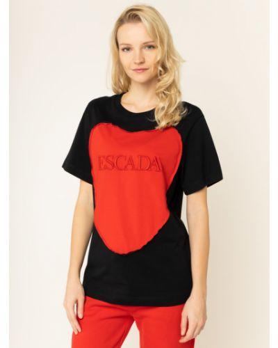 Czarna t-shirt Escada Sport