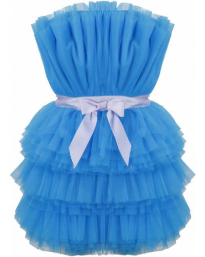 Niebieska sukienka Teen Idol