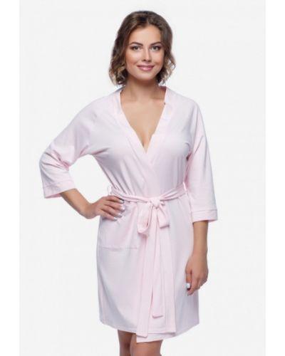Розовый халат домашний Mianagreen