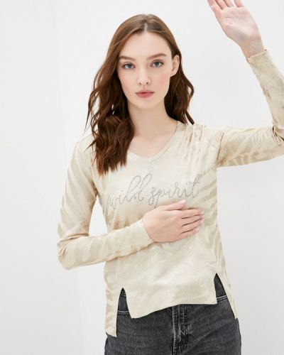 Бежевый пуловер Passioni