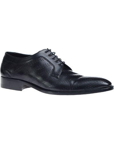 Кожаные туфли - черные A.testoni