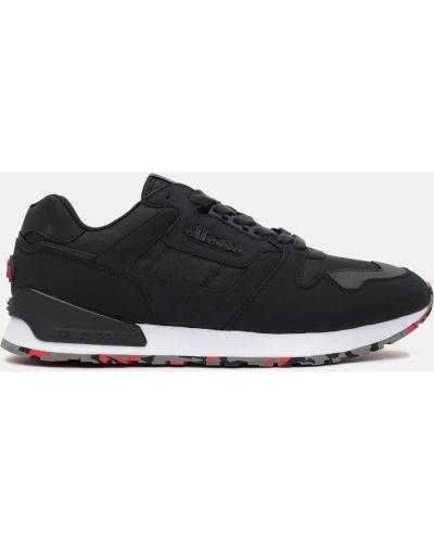 Текстильные кроссовки - черные Ellesse