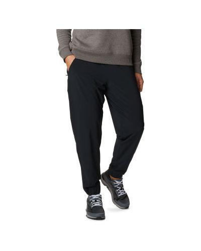 Спортивные брюки из полиэстера - черные Columbia