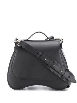 Кожаная сумка - черная Simone Rocha
