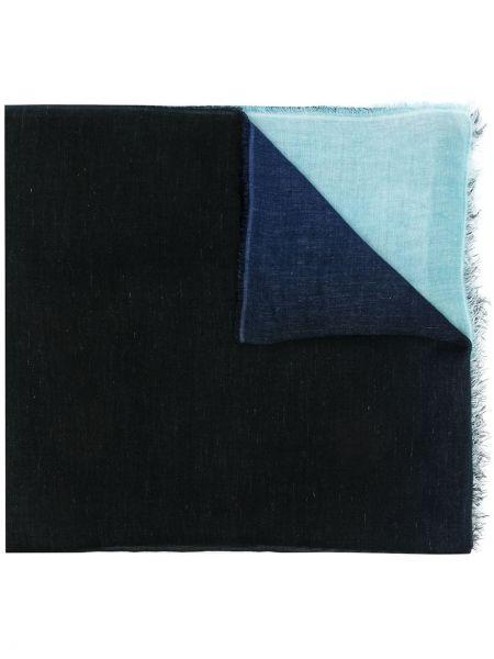 Niebieski z kaszmiru szalik Faliero Sarti