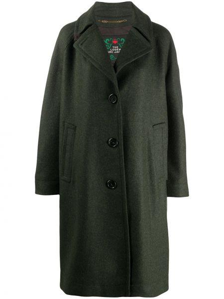 Шерстяное пальто оверсайз с воротником на пуговицах Marc Jacobs