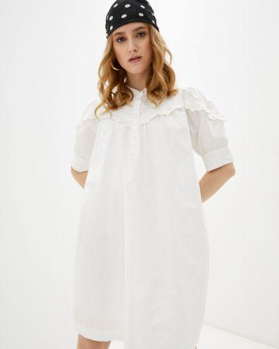 Прямое белое платье Ichi