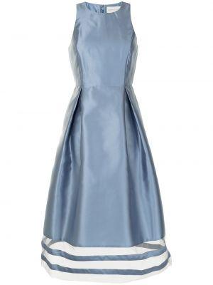 Расклешенное синее платье без рукавов Sachin & Babi