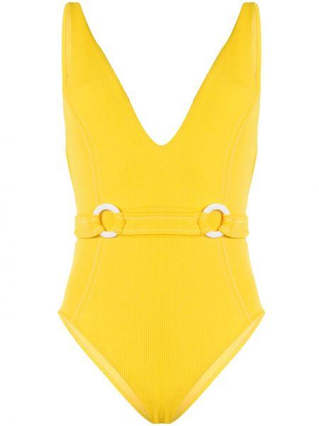 Нейлоновый купальник - желтый Suboo