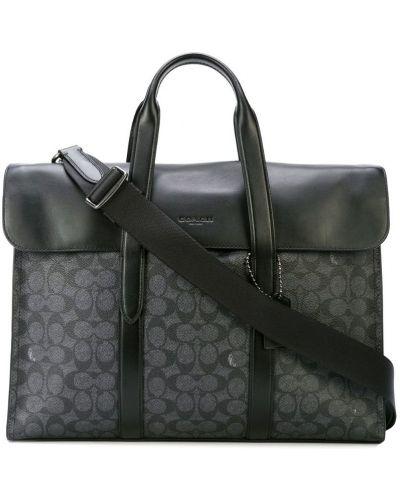 Портфель серый Coach