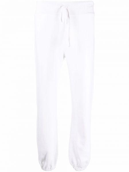 Белые хлопковые спортивные брюки Nili Lotan