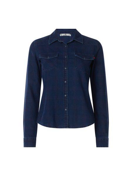 Niebieska bluzka bawełniana Ltb