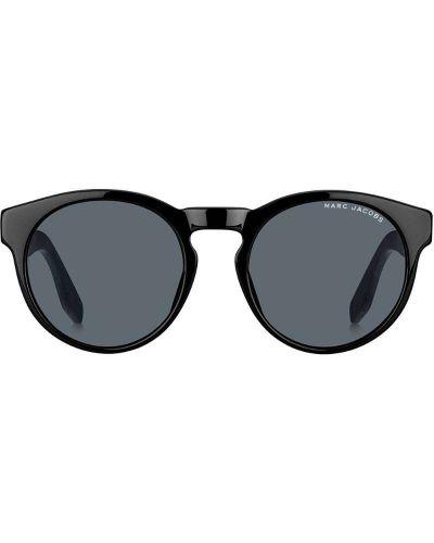 Черные солнцезащитные очки круглые с завязками Marc Jacobs Eyewear