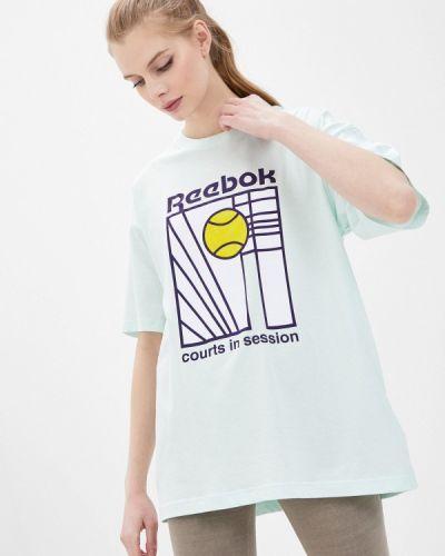 Бирюзовая футболка Reebok Classic
